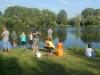 Schnupperangeln in Kemmern im Rahmen des Ferienprogramms, August 2012