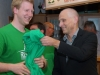 Meisterfeier der Basketballer des 1. FC Baunach, Mai 2013