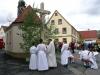 Weihe Kreuz und Spielplatz mit Dorffest in Höfen, Mai 2013