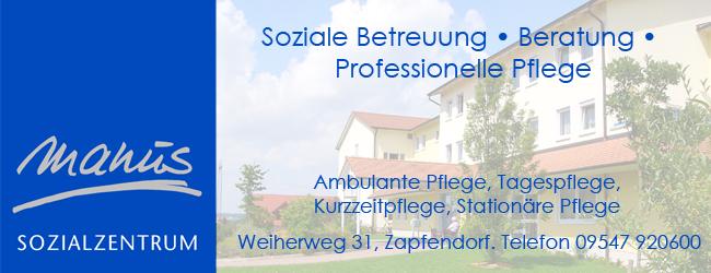 Manus Sozialzentrum Zapfendorf