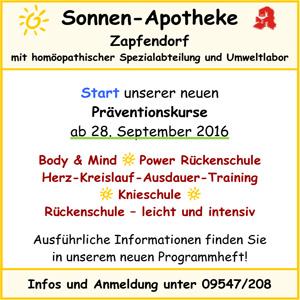 Sonnen Apotheke Zapfendorf