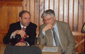 1. Bürgermeister Rüdiger Gerst und sein Stellvertreter Hans-Dieter Ruß