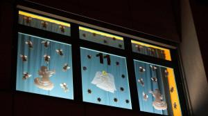 Adventsfenster Grund- und Mittelschule Baunach, 2012
