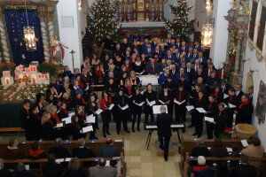 Weihnachtskonzert Sängergruppe Bad Staffelstein in Rattelsdorf, 26. Dezember 2012