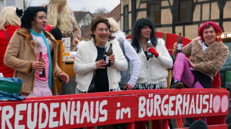 Faschingsumzug Baunach 2013