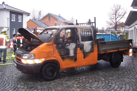 Bauhofbrand Februar 2013