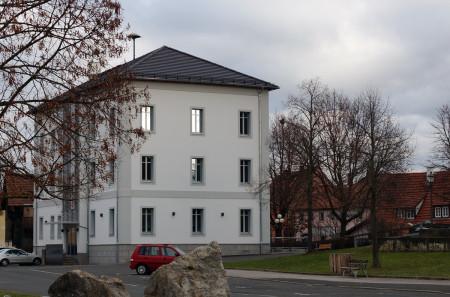 Rathaus Breitengüßbach nach Außensanierung