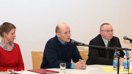 BI Lebensader diskutiert mit Bürgermeisterkandidaten, Januar 2013