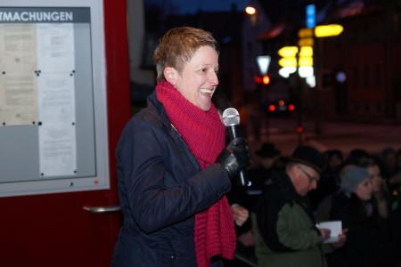 Sigrid Reinfelder Stichwahl Breitengüßbach 17. März 2013