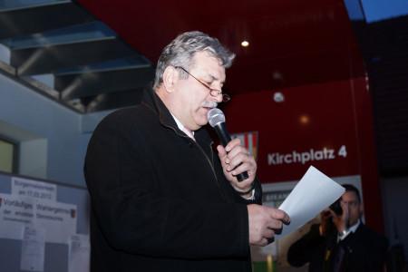 Bürgermeister Reiner Hoffmann Breitengüßbach 2013
