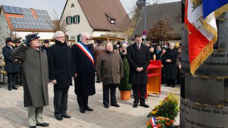 Einweihung Mahnmal Zapfendorf, 1. April 2013