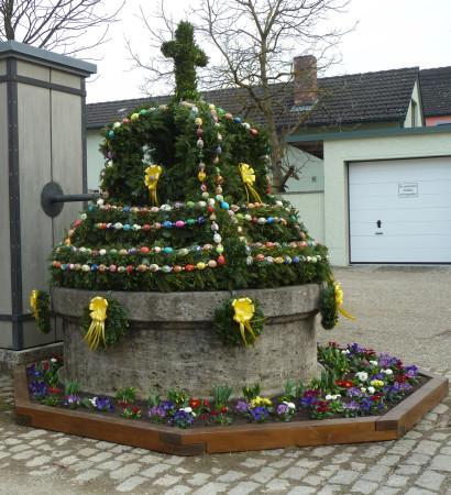 Osterbrunnen Kemmern 2013