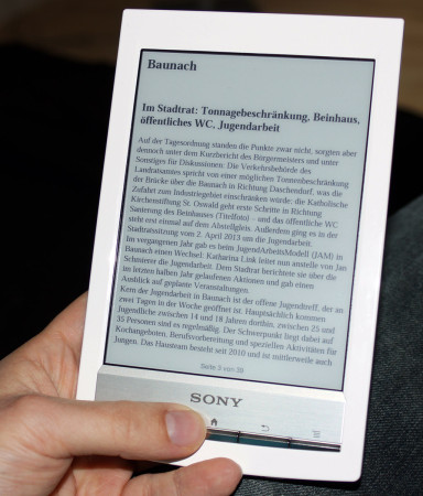 E-Book-Ausgabe 2013 - Tablet, Reader