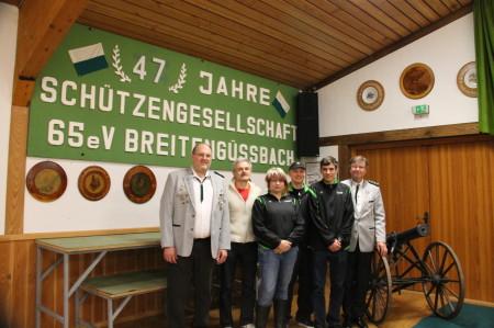 2013 Breitenguessbach Neuwahl Schuetzengesellschaft