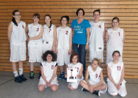 Basketballerinnen GMS Baunach Nordbayerischer Meister 2013