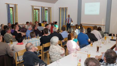 Informationsveranstaltung Dorferneuerung Oberleiterbach Mai 2013