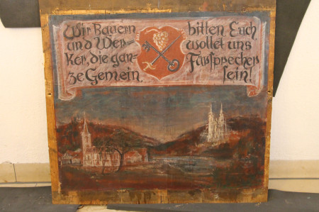 2013-04-Kemmern Neue Orgel-Ausbau der Heiligen