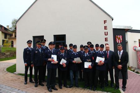 2013-05-Priegendorf Einweihung Feuerwehrgerätehaus