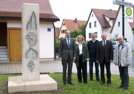 Abschluss Dorferneuerung Ebing, Mai 2013