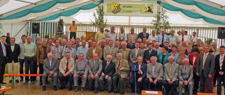 60 Jahre FSV Unterleiterbach 2013 Gruppenbild