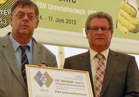 60 Jahre FSV Unterleiterbach 2013 Goldene Raute