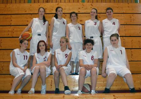 Bayerische Meisterschaft Basketballerinnen Schule Baunach 2013 (1)