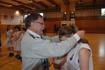 Bayerische Meisterschaft Basketballerinnen Schule Baunach 2013 (3)