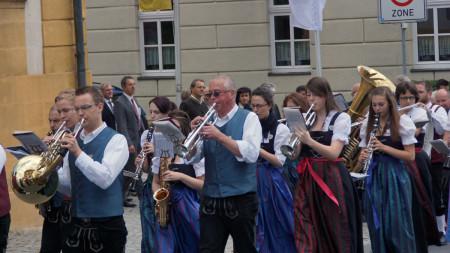 Festzug Einweihung Bürgerhaus Baunach 2013