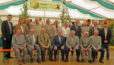 60 Jahre FSV Unterleiterbach 2013 Ehrung