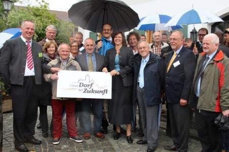 Eröffnung Dorfwettbewerb 2013 Böbing