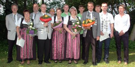 Königshaus Schützen Breitengüßbach 2013