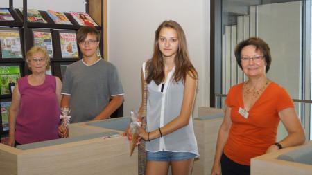 Eröffnung Stadtbücherei Baunach Juli 2013