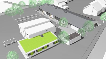 Neubau Kindergarten, Erweiterung Kinderkrippe Rattelsdorf Entwurf Juli 2013