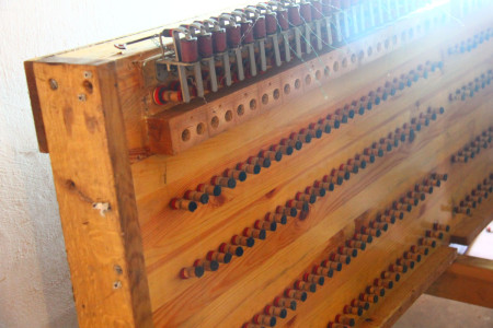 2013 Kemmern Abbau alte Orgel 19