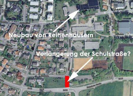 Antrag Verlängerung Schulstraße Breitengüßbach 2013