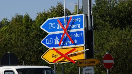 Baustelle B4 Kemmern 2012