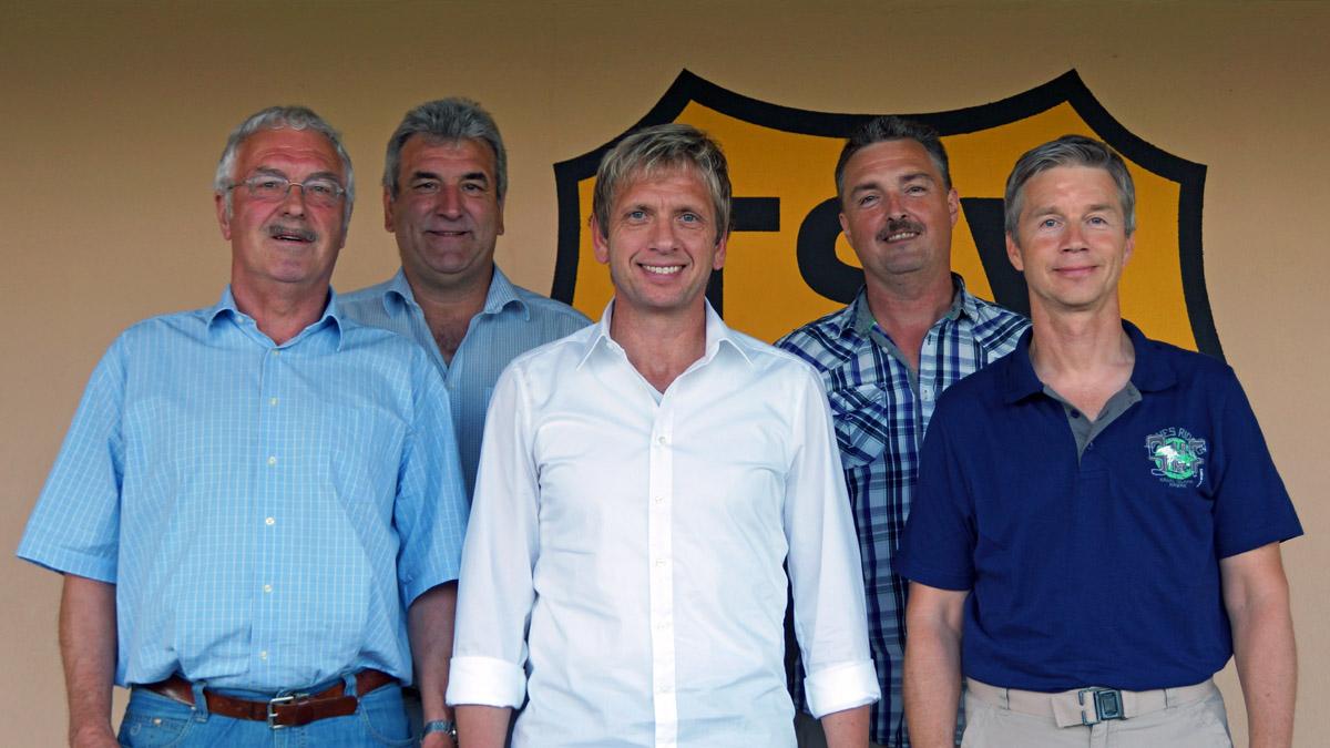 Im zweiten Anlauf hat\'s geklappt: Der TSV hat wieder einen Vorstand ...