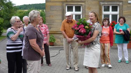 OGV Zapfendorf besucht Mürsbach, Juli 2013