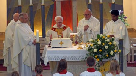 Pfarrer Schmitt, Pater Placidus, August 2013