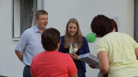 Begrüßung Pfarrer Holmer Zapfendorf 2013