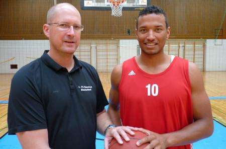 Dimi McDuffie FC Baunach Basketball 2013