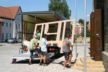 2013-08-Kemmern Neue Orgel Tag 1