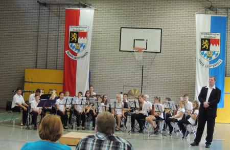 2013-07 Breitengüßbach Musikverein Wertungsspiel Weismain