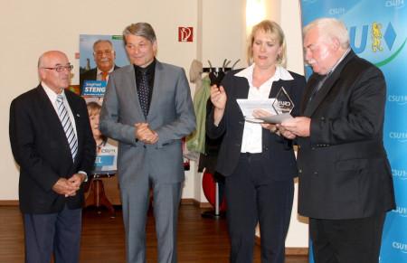 Ehrungen CSU Baunach 2013