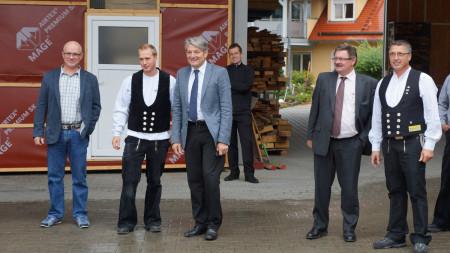 Betriebsbesichtigung Nüsslein Zapfendorf 2013