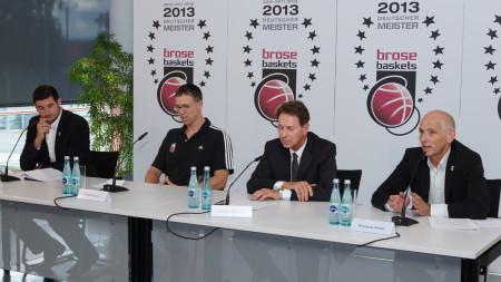 PK Brose Baskets Kadervorstellung 2013 (1)
