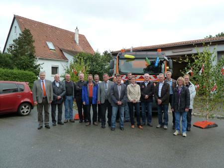 2013-09 Memmelsdorf Segnung Kehrmaschine