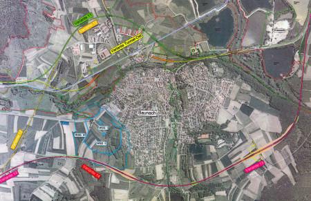 Umgehung und Tunnel Baunach, Plan, 2013