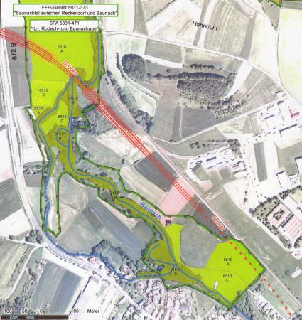 Umgehung und Tunnel Baunach, Plan 3, 2013