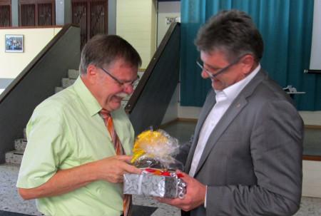 Verabschiedung Rektor Knoblach
